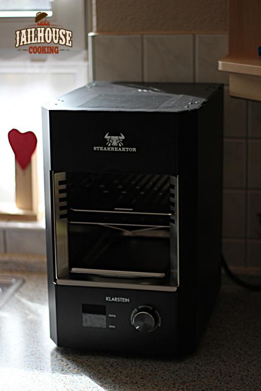 steakreaktor 2 0 von klarstein jailhouse cooking. Black Bedroom Furniture Sets. Home Design Ideas
