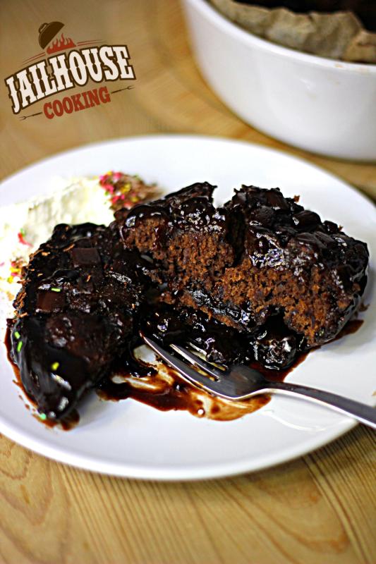 Schokoladen Fudge Kuchen